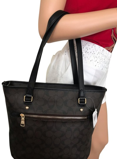 Coach Tote in Brown black Image 0
