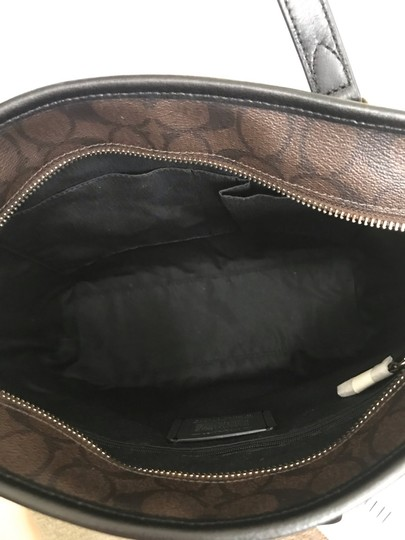 Coach Tote in Brown black Image 5