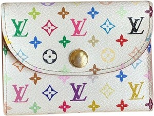 Louis Vuitton Louis Vuitton MINT Multicolor Business Card Holder + Box + Dust Bag