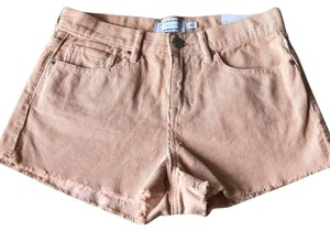 Kendall + Kylie Cut Off Shorts pink