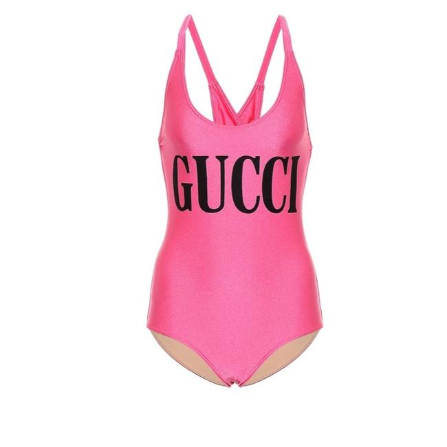 Gucci logo printed swimsuit Image 2