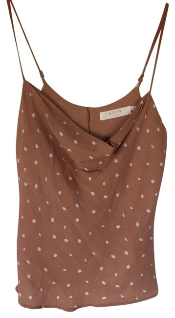 Preload https://img-static.tradesy.com/item/24929674/wayf-pink-polka-dot-scoop-neck-blouse-size-8-m-0-1-650-650.jpg
