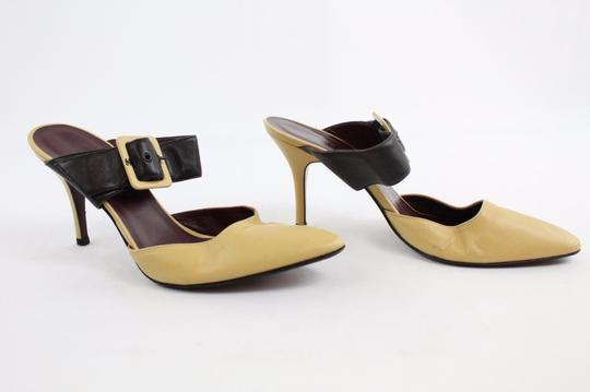 Chanel Mary Jane Tan And Black Pumps Image 1