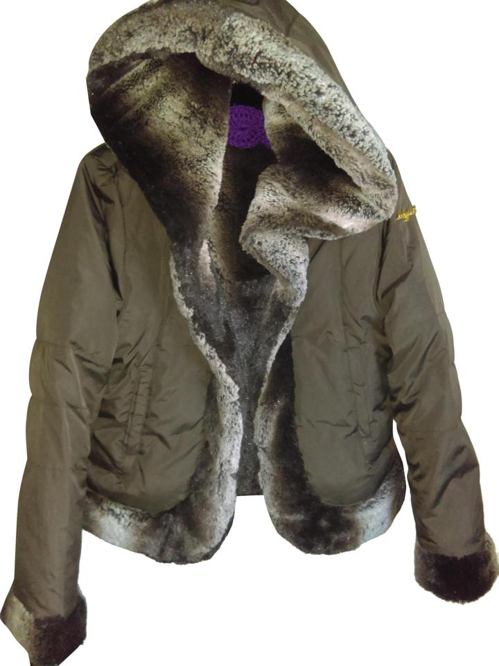 dc45d1a092fe Baby Phat Brown Unknown Coat Size 8 (M) - Tradesy
