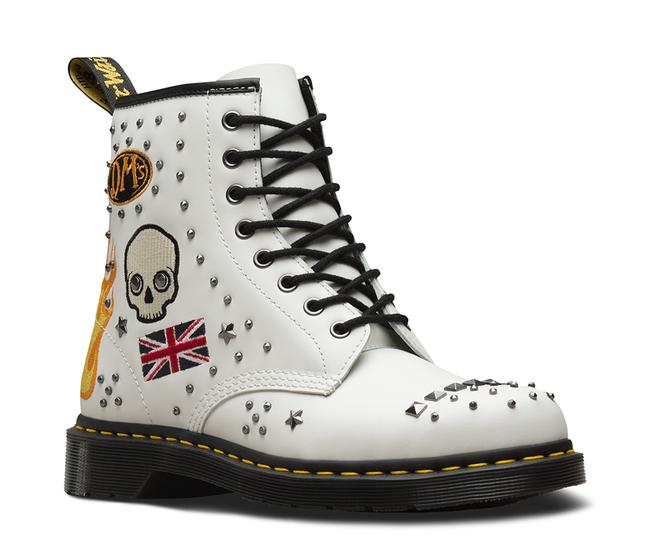 Item - White 1460 Rock Roll Limited Edition Boots/Booties Size US 8 Regular (M, B)
