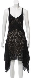 Sachin + Babi Asymmetric Lace Flutted Dress