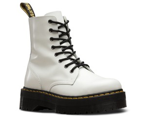 e619905e3e38 White Dr. Martens Boots   Booties - Up to 90% off at Tradesy