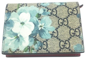 ea0fd4d5875b Gucci Gucci GG Supreme Blooms Card Case/ Wallet, #546372