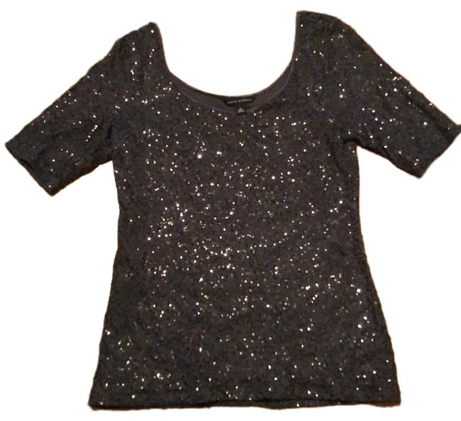 Item - Sequined Gray Top