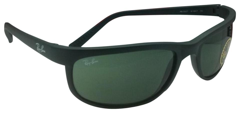 00814bd1ba Ray-Ban New Ray-Ban Sunglasses PREDATOR 2 RB 2027 W1847 Matte Black Frame  ...