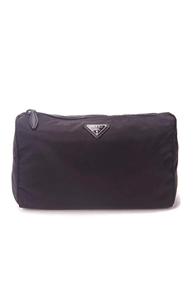 713a3030562512 Prada Large Unisex Toiletry and Cosmetics Travel Zippered Pouch Case Bag  Image 0 ...
