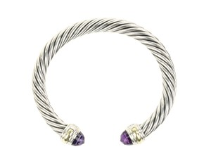 David Yurman David Yurman Cable Cuff Amethyst 7 mm