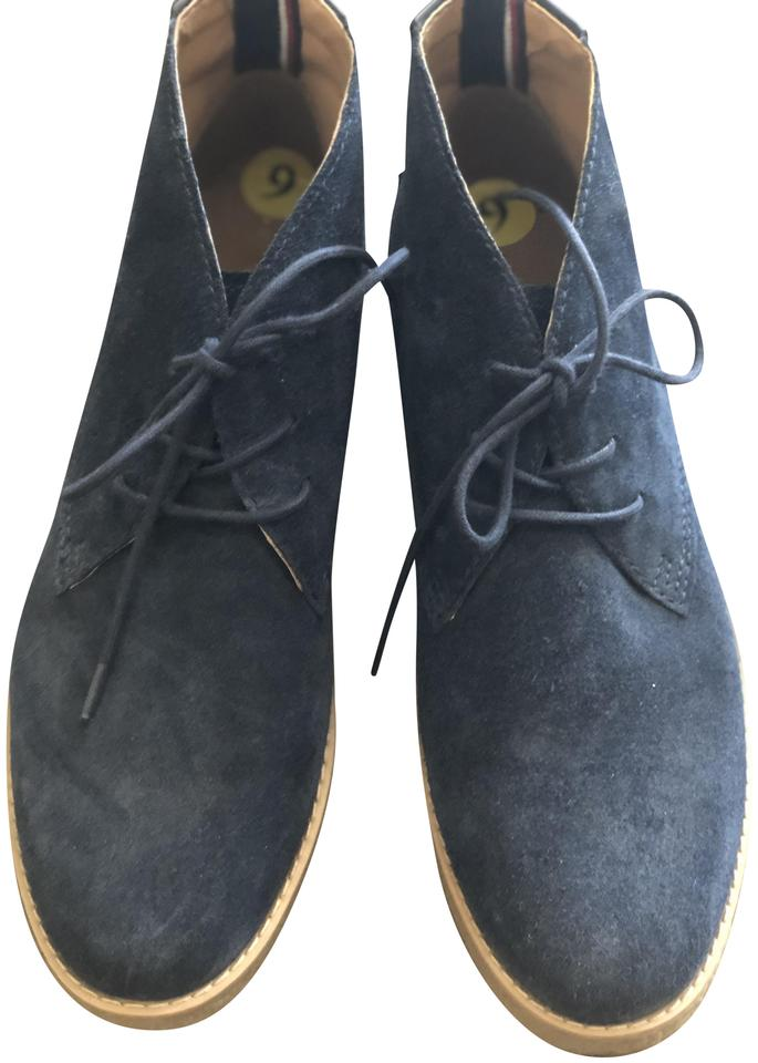 stable quality online retailer release date: Tommy Hilfiger Navy Euc Boots/Booties Size US 9 Regular (M, B ...