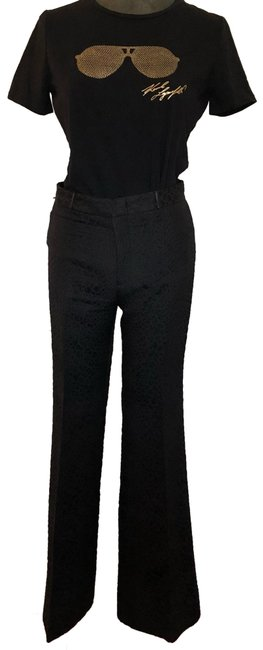 Item - Black High Rise Textured Pants Size 4 (S, 27)