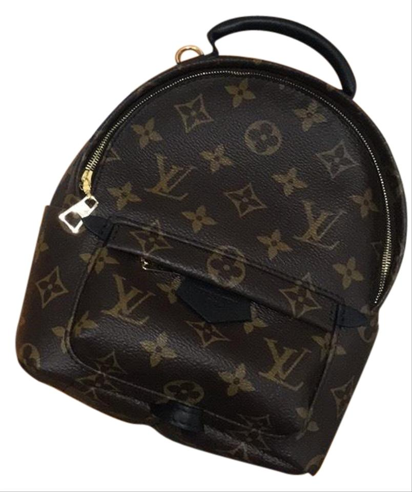 b9a70cd74d81 Louis Vuitton Palm Springs Mini Coated Canvas Backpack - Tradesy