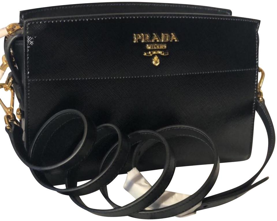 82c66e0d791d Prada 1bh104 Black Cross Body Bag - Tradesy