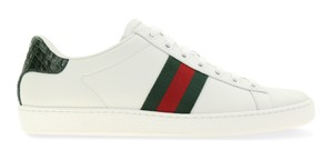 Gucci Ace Sneaker Web Web Stripe White Athletic