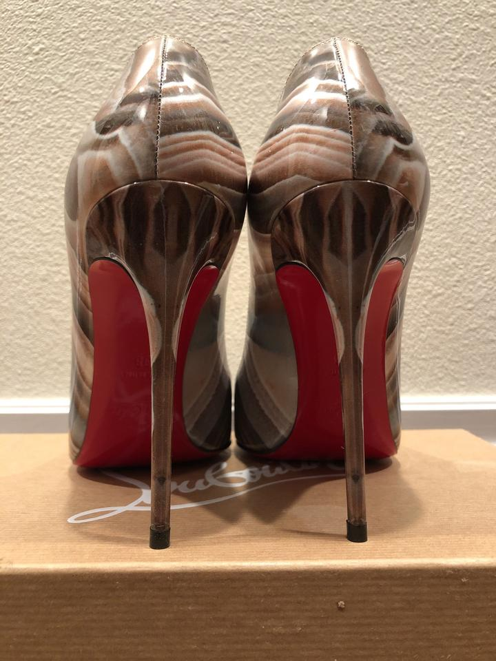 pretty nice e12ff e7325 Christian Louboutin Pigalle Follies Galaxy Beige Platforms Size US 8 Narrow  (Aa, N) 37% off retail