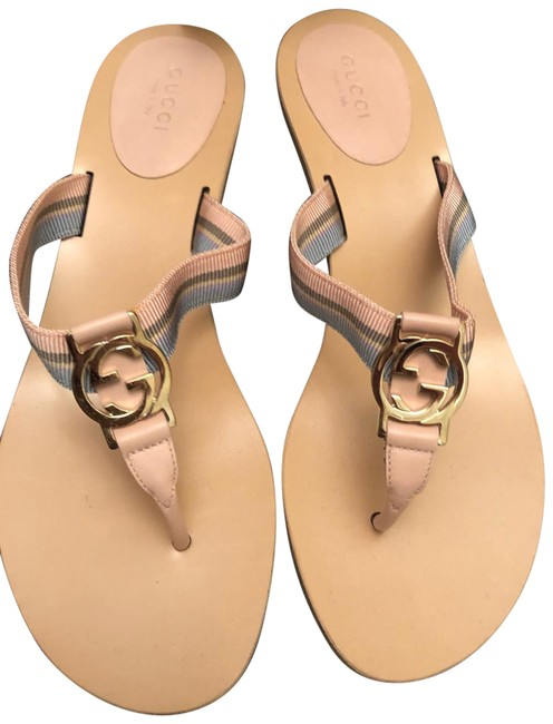 Item - Light Pink and Light Blue with Tan 156578 Sandals Size US 8 Regular (M, B)