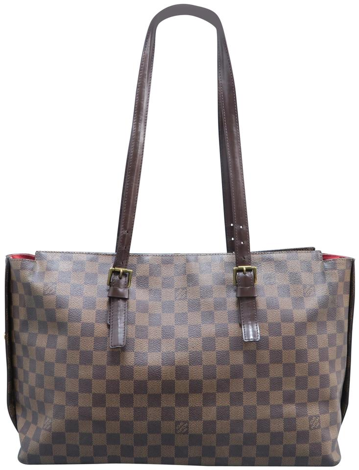 393746d80598 Louis Vuitton Chelsea Damier Ebene Brown Canvas Tote - Tradesy
