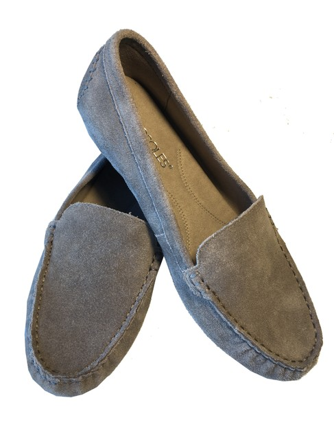 Item - Gray Over Drive Slip-on Loafers Flats Size US 7.5 Regular (M, B)