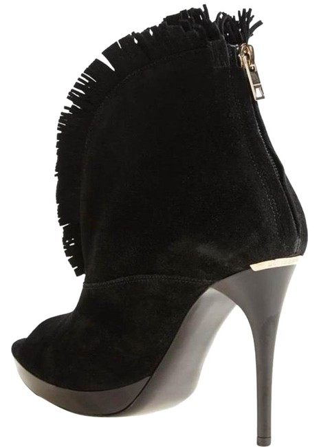Item - Nadison Suede Fringe Boots/Booties Size EU 39 (Approx. US 9) Regular (M, B)