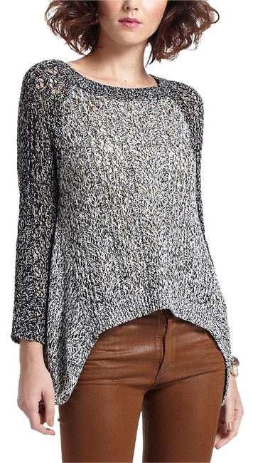 Item - Anthropologie Dipped Lace Marled Small S Black Sweater