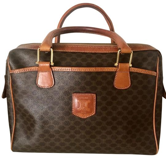 Preload https://img-static.tradesy.com/item/24933719/celine-with-tanned-vachetta-leather-brown-monogram-coated-canvas-satchel-0-1-540-540.jpg