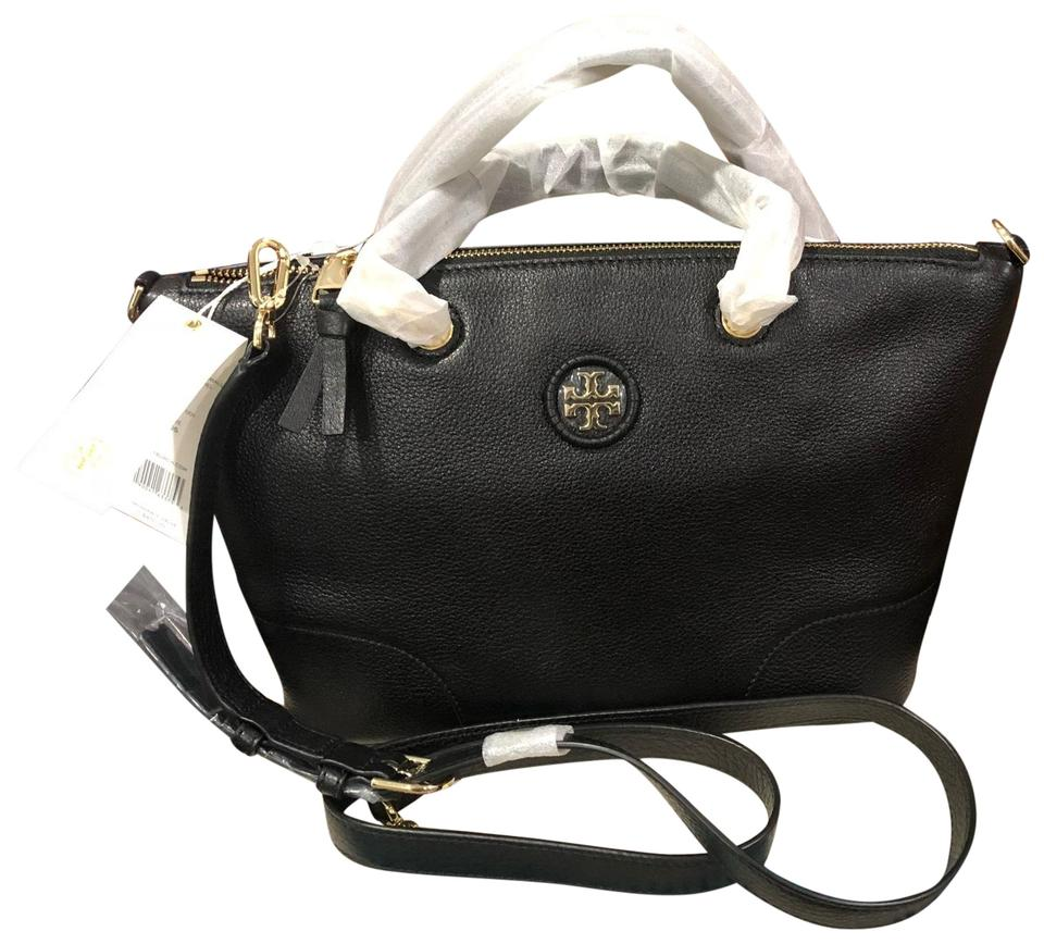 612e8f15d76b Tory Burch Whipstitch Logo Small Slouchy with Dust Satchel - Tradesy