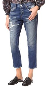 AMO Relaxed Fit Jeans-Distressed