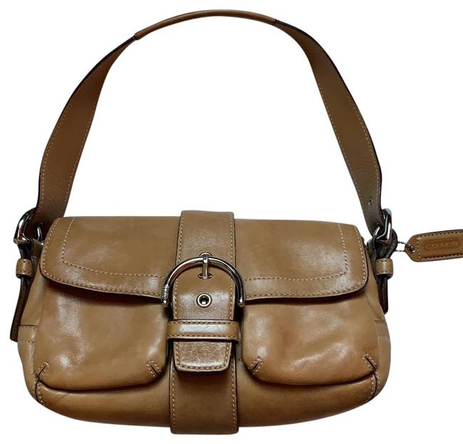 Item - Luxury Small Light Brown Leather Hobo Bag