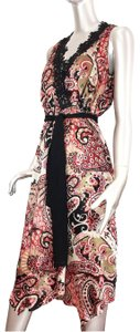 Zara Crochet Floral Lace Hippie Embroidered Dress