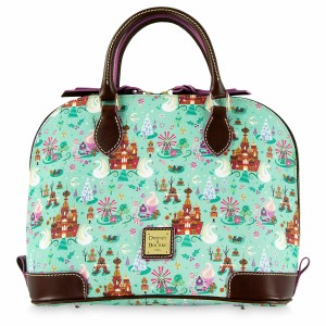 21416c885577 Coach Shoulder Disney X Duffle 20 with Spooky Eyes Print Leather ...