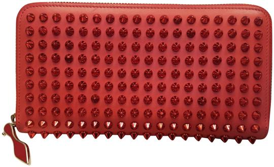 Preload https://img-static.tradesy.com/item/24935021/christian-louboutin-red-spike-clutch-wallet-0-1-540-540.jpg