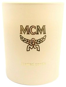 MCM BRAND NEW MCM LIMITED EDITION 2.5OZ ORRIS SCENTED VEGETABLE WAX CANDLE