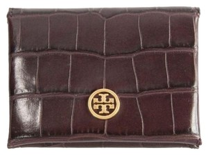 Tory Burch Parker Embossed Foldable Card Case