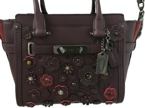 ec5014c3e4f3d Coach Satchel in Wine and Reds · Coach. Swagger 21 Tearose Wine and Reds  Glove Tanned Leather Satchel