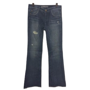Level 99 Distressed Flare Leg Jeans-Distressed