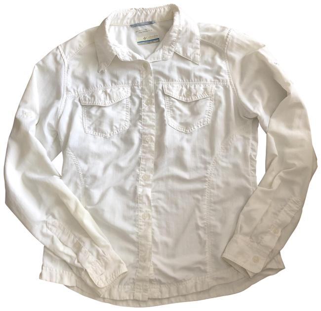 Item - White Sun Protection Activewear Top Size 2 (XS)