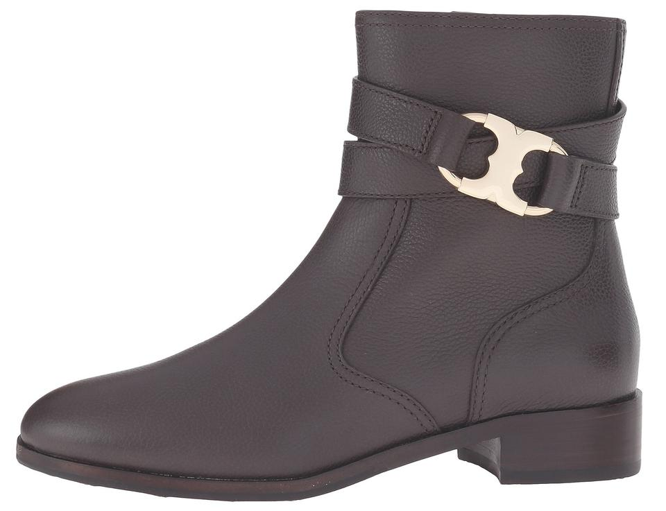 ac6312d2c76c Tory Burch Coconut Brown Gemini Link Leather Boots Booties Size US ...