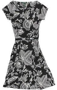 Lauren Ralph Lauren short dress Black White on Tradesy