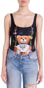 Moschino Moschino Bear Floral Bodysuit Swimsuit Size 42Euro / 38Us