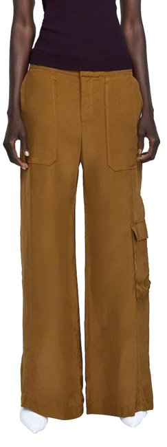 Item - Taupe Brown Flowy Cargo Pants Straight Leg Jeans Size 2 (XS, 26)