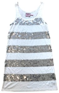 Juicy Couture short dress White/silver on Tradesy