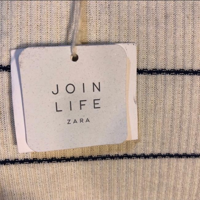 Zara T Shirt cream Image 4