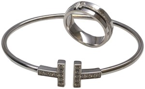 Tiffany & Co. Tiffany&co white gold/diamond bracelet and ring