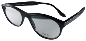 681d4f34b911 Prada New PRADA JOURNAL Eyeglasses VPR 12S 1AB-1O1 Shiny Black Frame 54-18