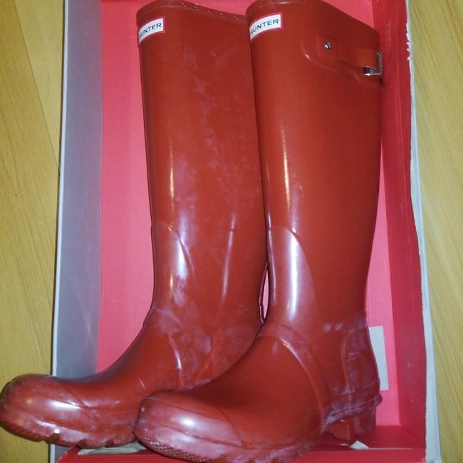 Item - Red Nwot Tall Rain Boots/Booties Size US 9 Regular (M, B)
