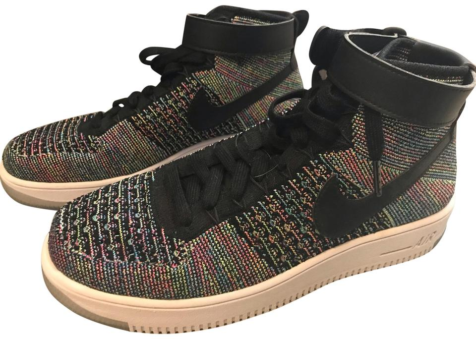 best loved d8953 7b63b Nike Multicolor Air Force 1 Ultra Flyknit Mid Sneakers Size US 10.5 ...