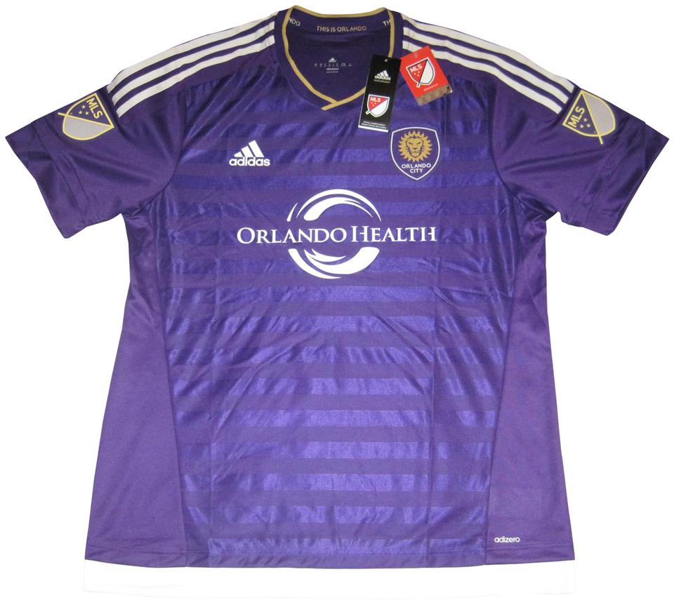 6cce3b798 adidas Men's Orlando City SC Authentic 2015 Soccer Jersey 7418A Image 0 ...